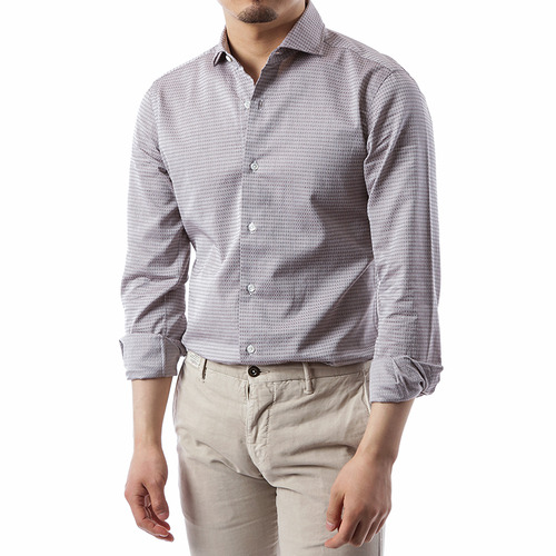 Jacquard Dot Shirts
