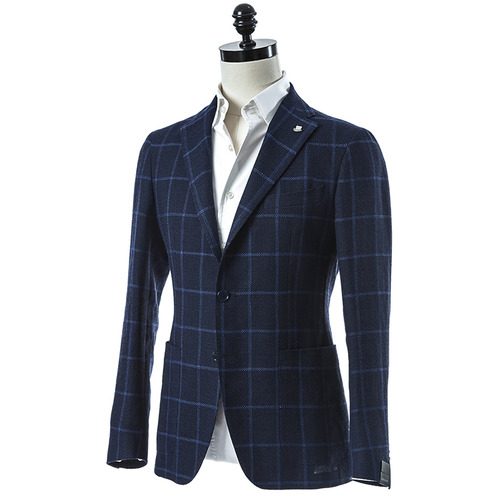 Soft Windowpane Jacket