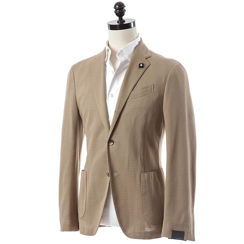 Formal Jersey Jacket (Beige)