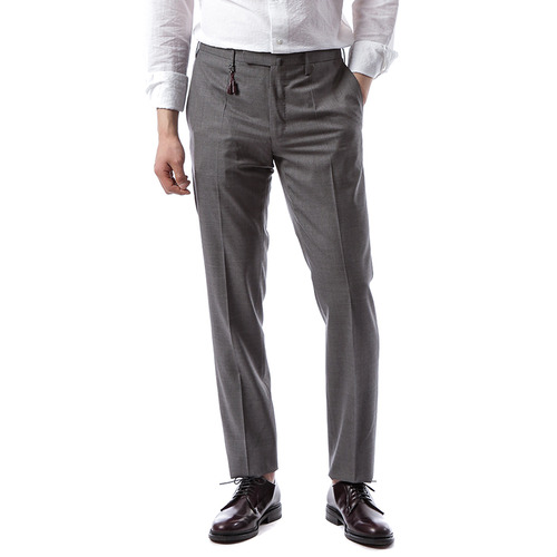 Skin Fit Wool Pants