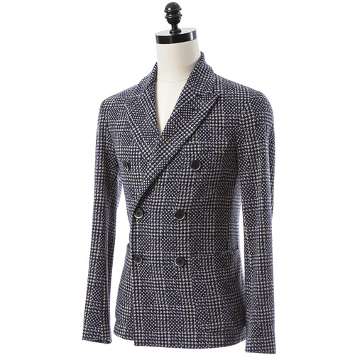 Double Breast Jersey Jacket
