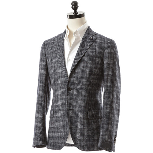 Tweed Glen Check Jacket
