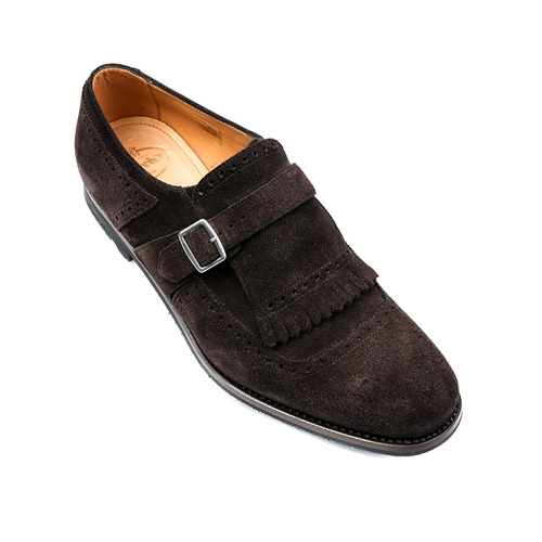 SHANGHAI Brown Suede Shoes