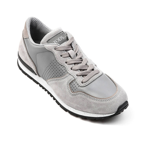 Sneakers in Suede Shoes(Gray)