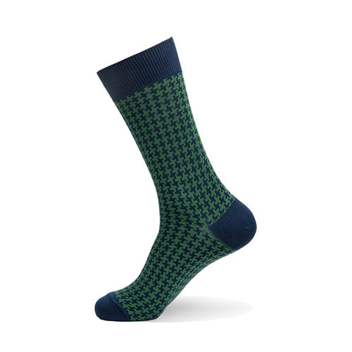 Hound Tooth Check [ Green ]