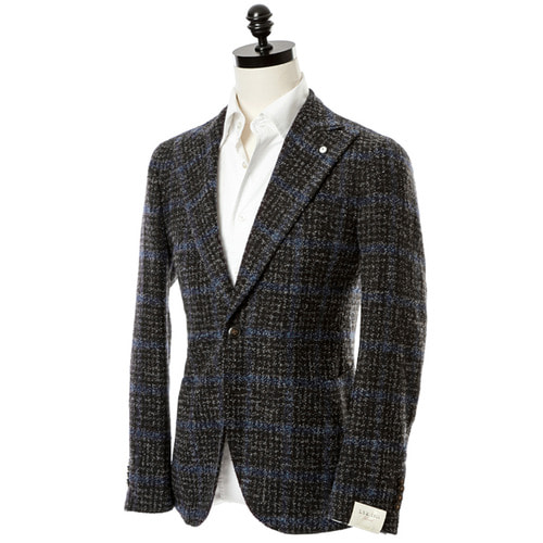 Boucle Windowpane Jacket