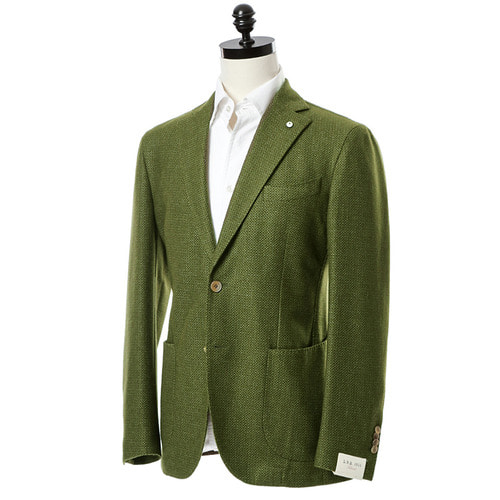 Olive green Bird Eye Jacket