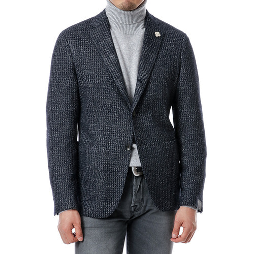 Hound Tooth Jersey Jacket