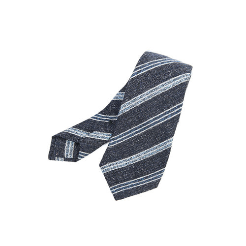Wool&Silk Dubble Fold Regimental Tie