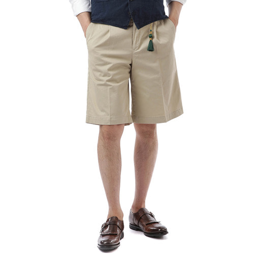 BERMUDA  Bombay Cotton Shorts (Beige)