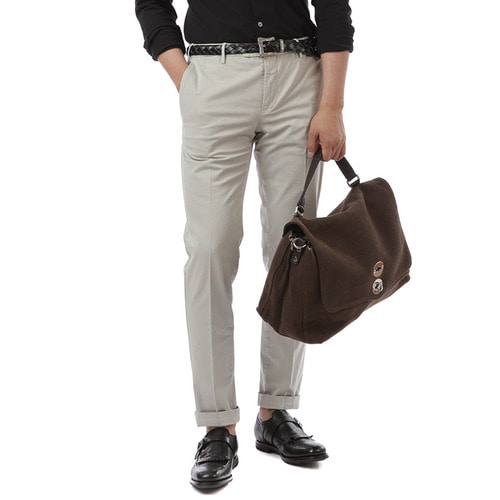 MADRAS Skinny Fit Stretch Pants (Sand)