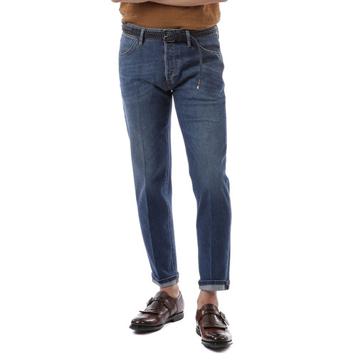 Reggae Tapered Fit Denim  ( Midium Blue )