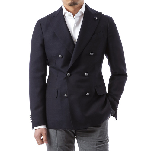 Silver Button Doublebrest Jacket