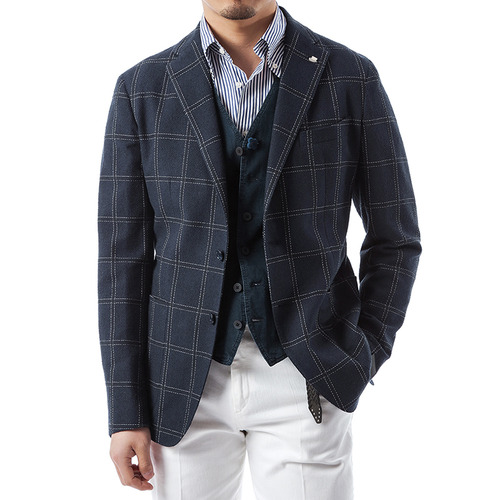 Montecarlo Windowpane Jacket