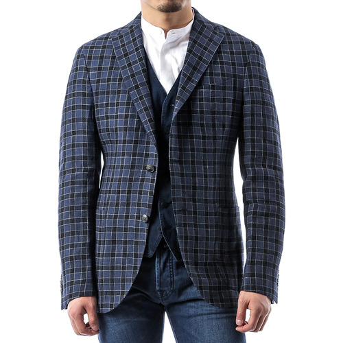 Block Check Jacket