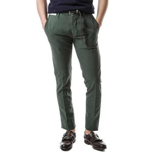 RED Skin Fit Slacks (Green)