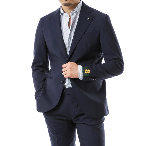 Otto Navy Wool Suit