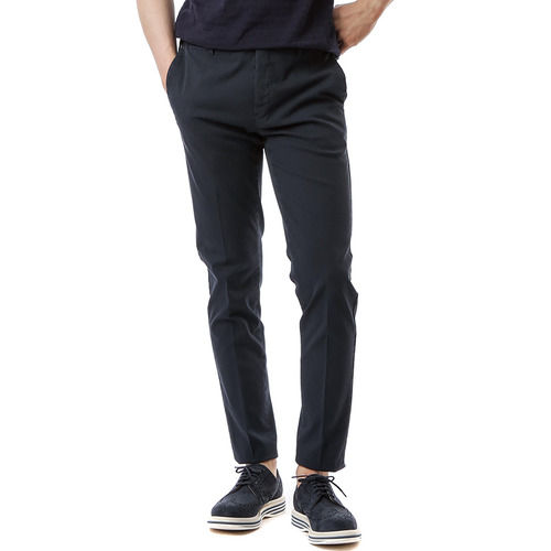 Skinny Stretch Pants (Navy)