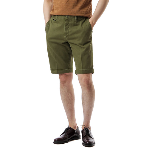 BERMUDA SHAKA Cotton Shorts (Khaki)
