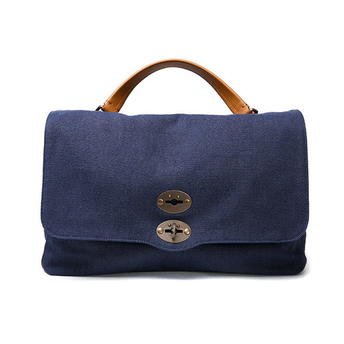 POSTINA Canvans Navy Bag