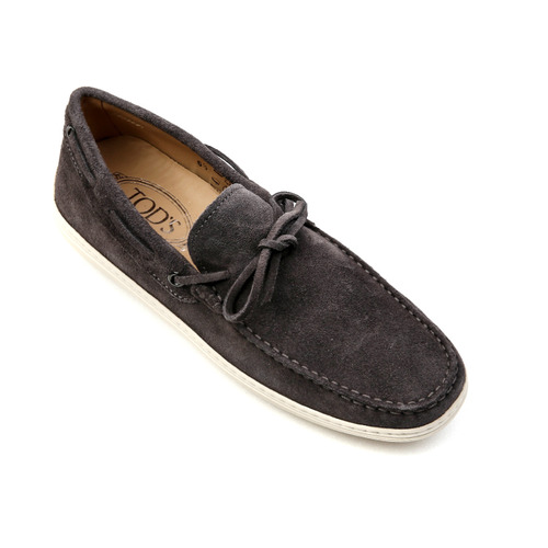 Moccasins in suede (Charcoal Grey)