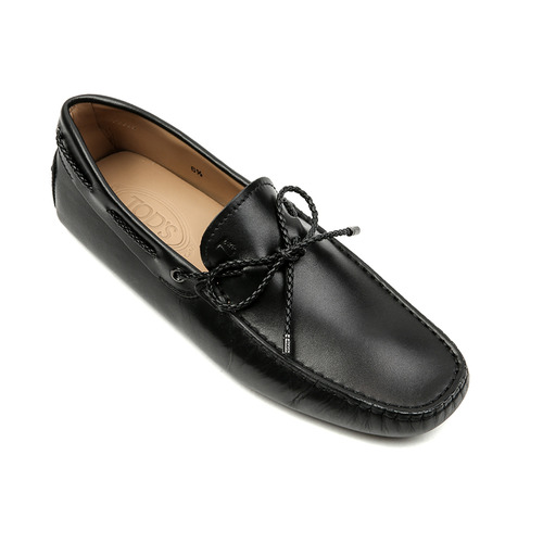 New Gommino Driving Shoes in Leather (Black)