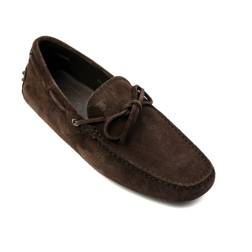 New Gommino Driving Shoes in Suede (Dark Brown)