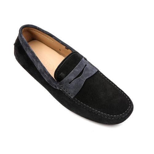 New Gommino Suede Moccains (Black, Grey)