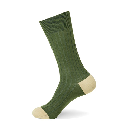 Merino Wool Block [ Green Beige ]