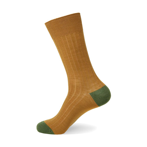 Merino Wool Block [ Ocher Green ]