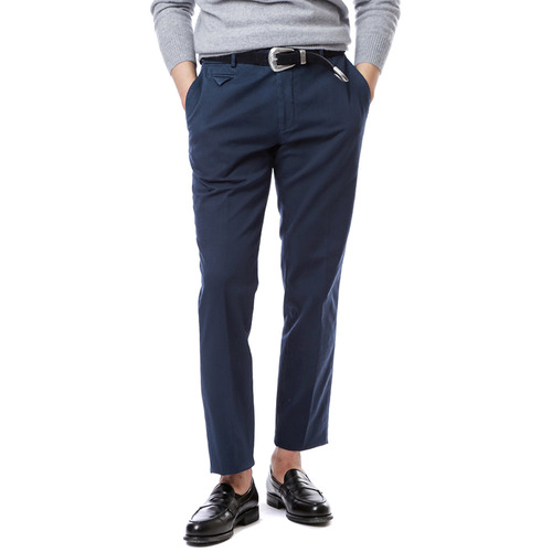 Larusmiani Washed Trouser (Medium Navy)