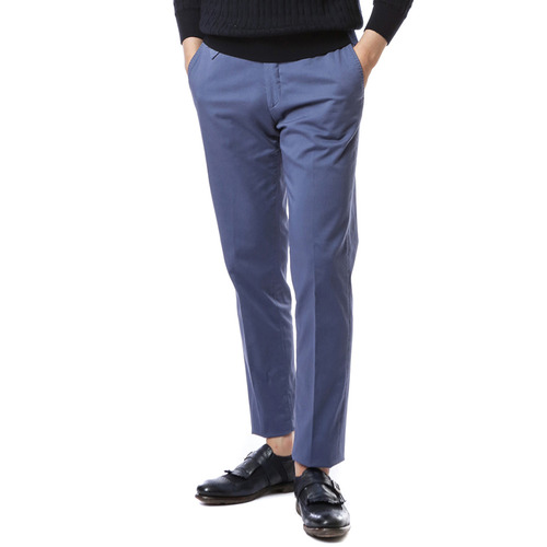 Larusmiani Washed Trouser (Sky Blue)