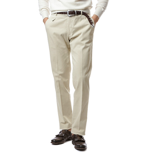 Larusmiani Washed Trouser (Ivory)