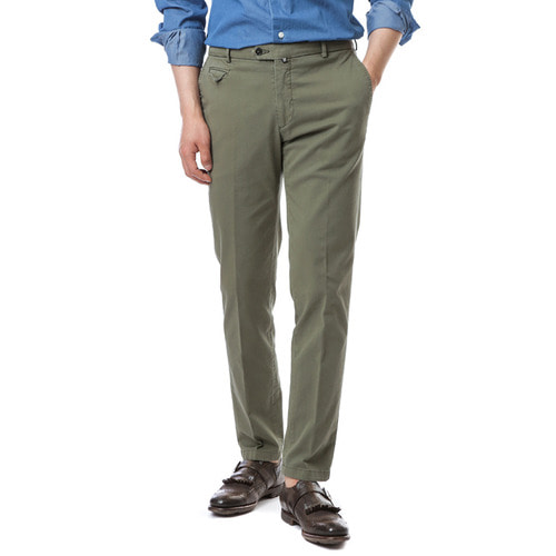 Larusmiani Washed Trouser (Khaki)