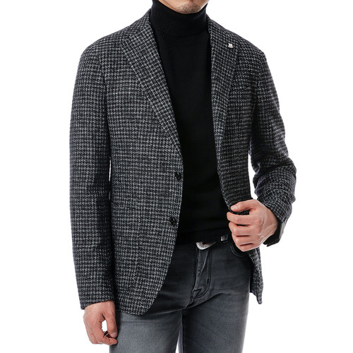 Hound Tooth Tweed Jacket