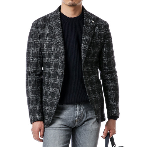 Tartan Tweed Jacket