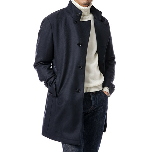 Navy Gordon Single Coat