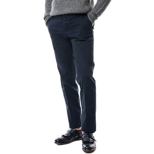 Welton Slim Stretch Pants (Navy)