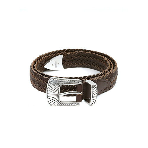 Brown Mesh Belt