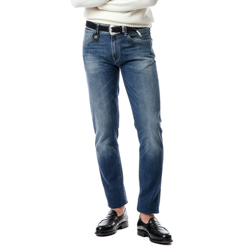 New Super Slim Denim (Medium Blue)
