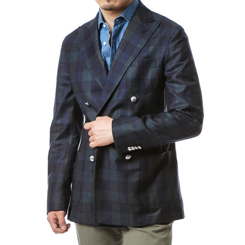Black Watch Light Flannel Jacket