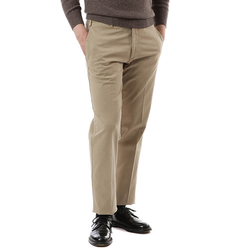 Light Brown Pliant Chino Pants