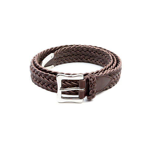 Brown Small Weaving Belt