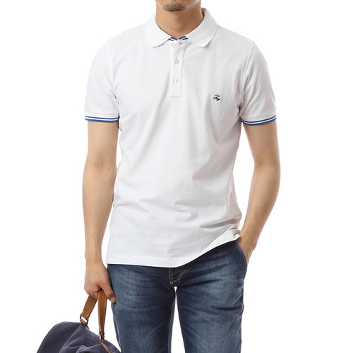 Merito Single White Pique Shirts