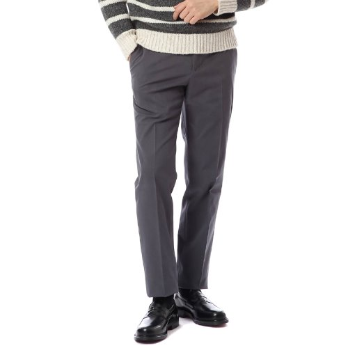 ELEGANCE. Slim Fit Muro Chino Pants (Gray)