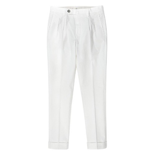 LUCA. Basic Classic Cotton Pants (White)