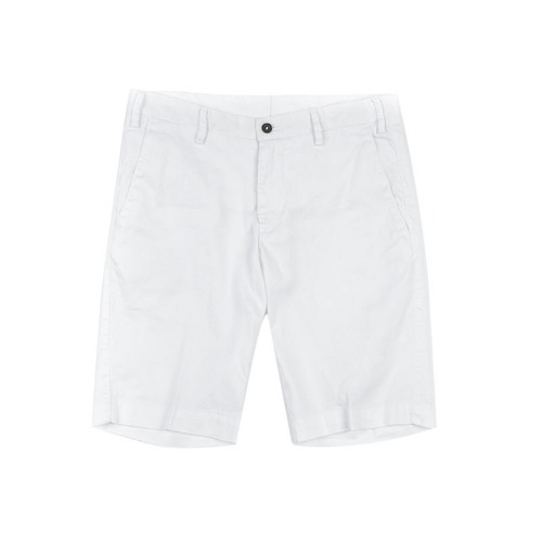 LAB. Simple Linen White Shorts