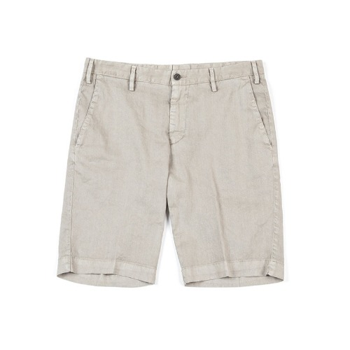 LAB. Simple Linen Beige Shorts