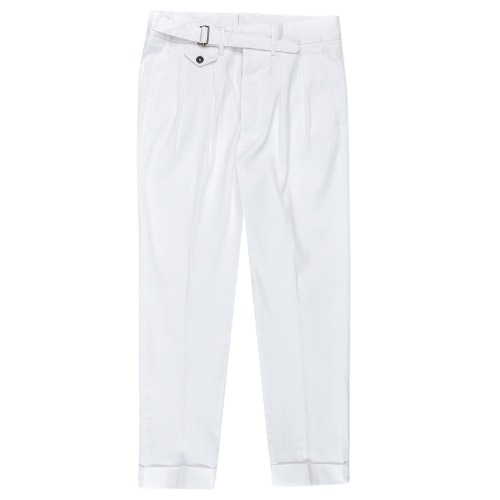 Gurkha White Linen Pants