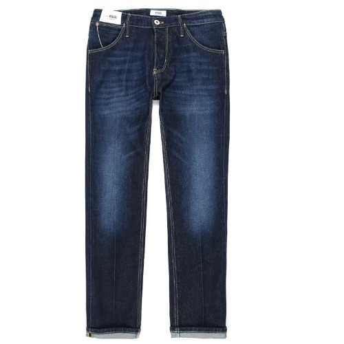 Reggae Tapered Fit Vintage Jeans (Dark Blue)